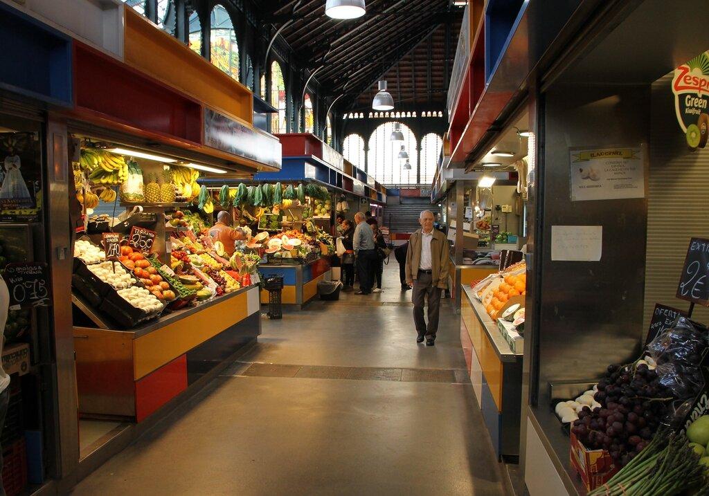 Малага. Рынок Сентраль-де-Атарасанас (Mercado Central de Atarazanas)