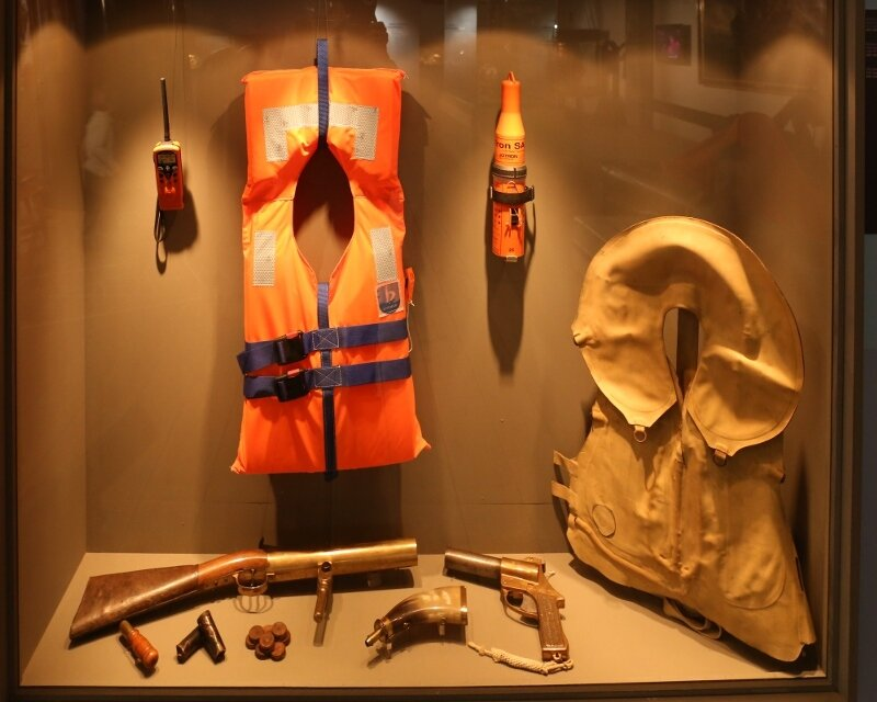 Maritime Museum of Barcelona. Rescue