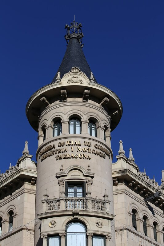 Таррагона. Каса де ла Пунша. Casa de la Punxa