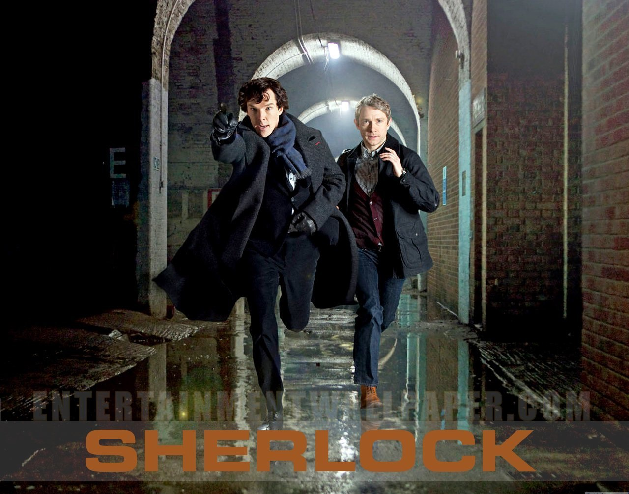 Британский Шерлок Холмс и доктор Ватсон.