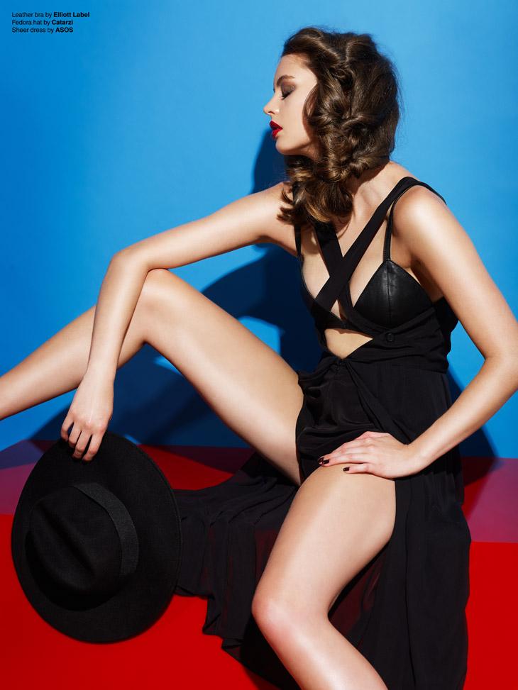 Фотосессия модного фотографа Алекса Потта