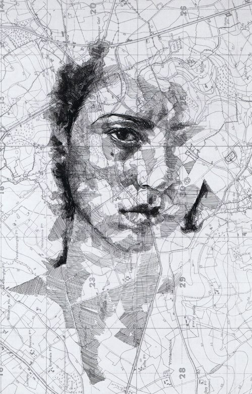 Сложные портреты Эда Фэрберна (Ed Fairburn)