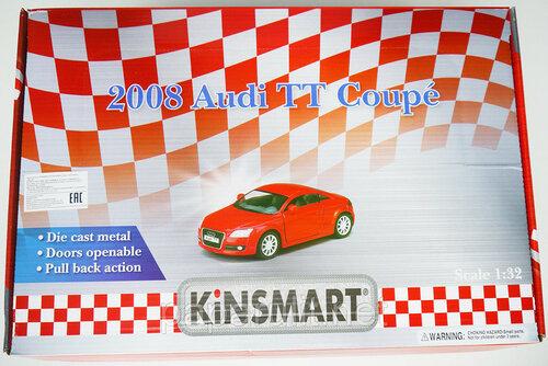 Машинка Kinsmart Audi TT Coupe