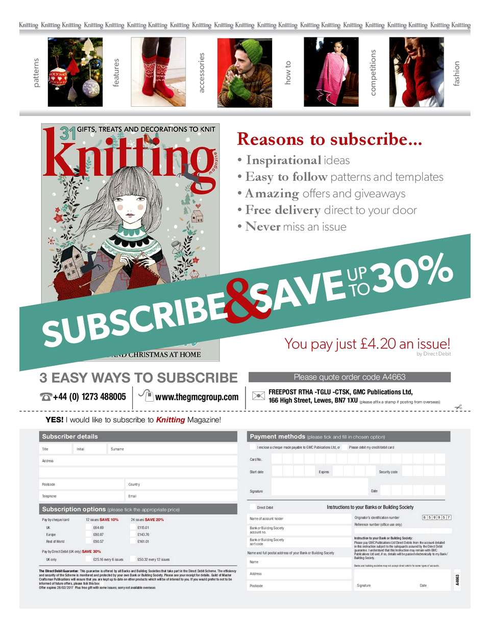Knitting Magazine -162December 2016-ng