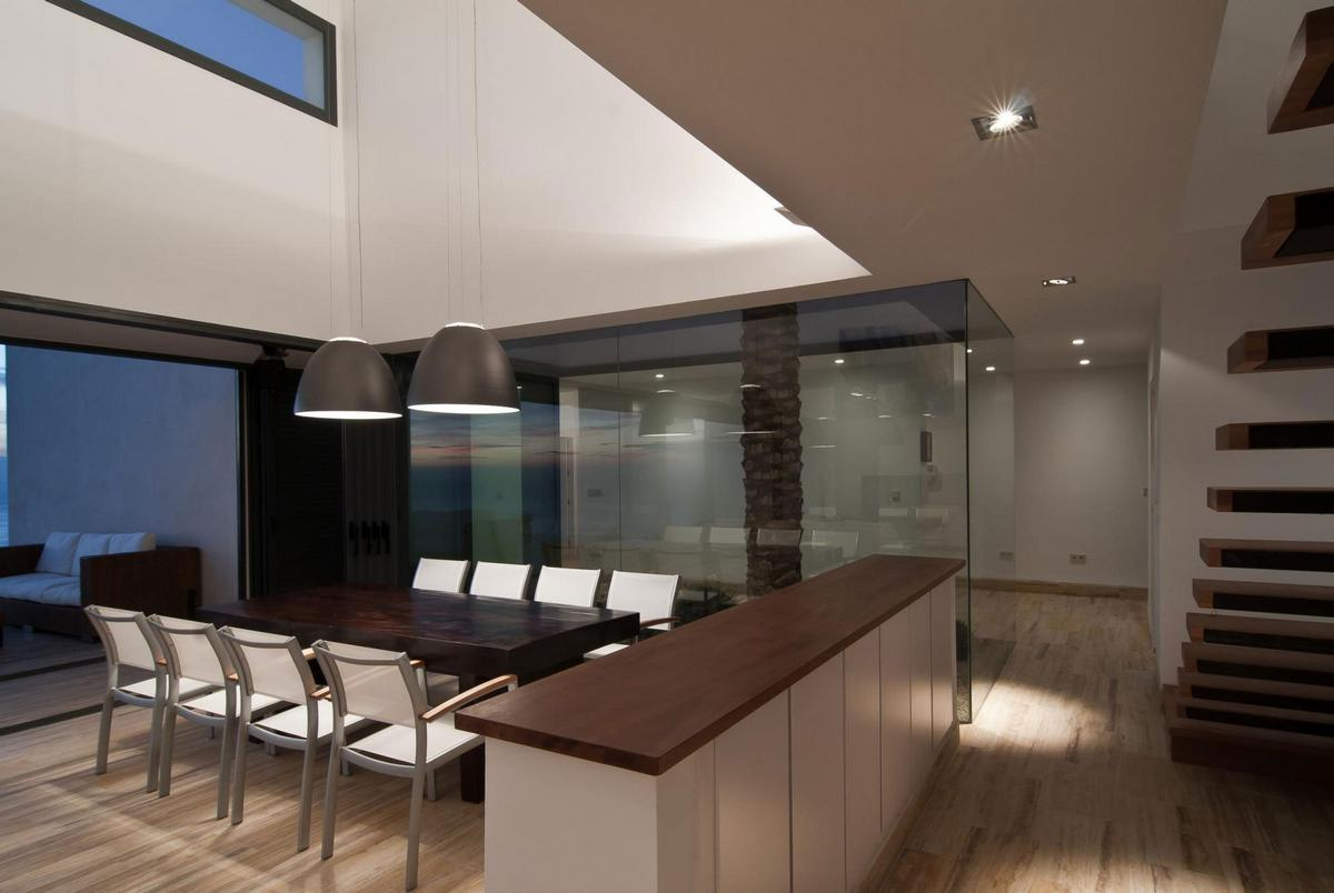 AA House, MVN Arquitectos, план дома, схема дома, светлый фасад дома, дом с видом на море, вилла в Испании, лучшие дома мира, частный дом в Альмерии
