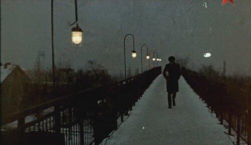 В. Гафт на горловском мосту