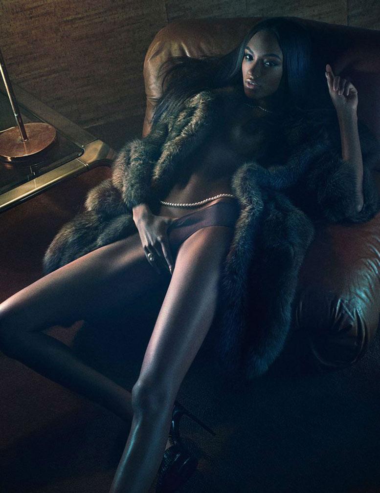 Богини и их сексуальность / Jourdan Dunn - The Goddesses by Fabien Baron