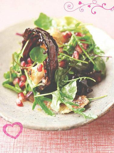 Рецепты ко дню св. Валентина от Джейми! Зеленый салат с