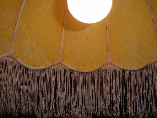 Фото 8. Абажур подвеса. Вид изнутри.