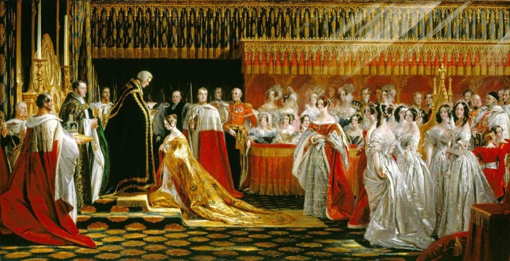 Queen Victoria Receiving the Sacrament at her Coronation, 28 June 1838