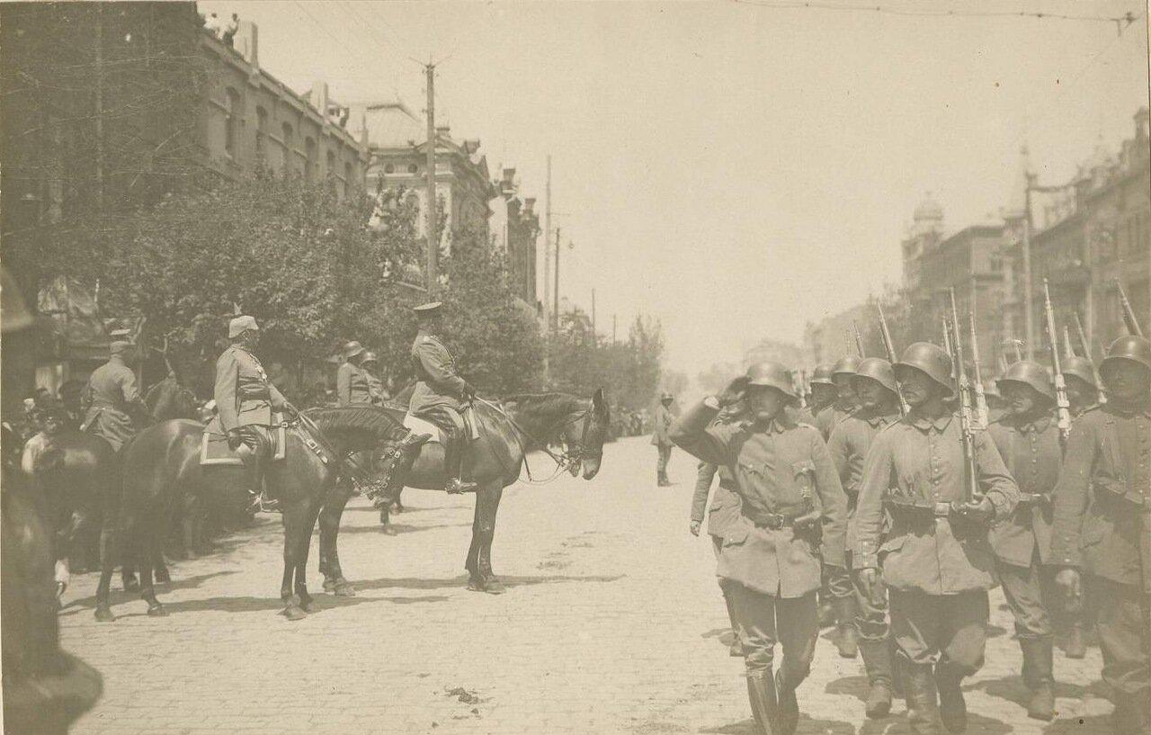 Его Превосходительство фельдмаршал Герман фон Эйхгорн в Таганроге