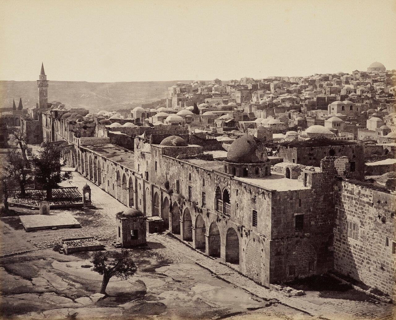 6 апреля 1862. Гора Сион от дома губернатора.Иерусалим