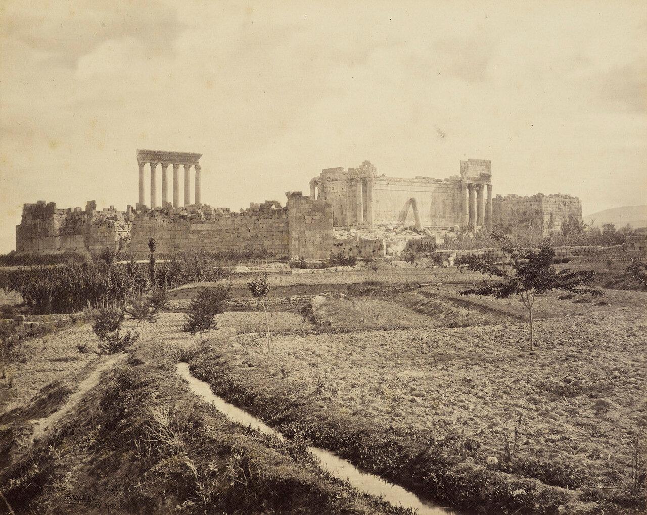 3 мая 1862. Баальбек с юга