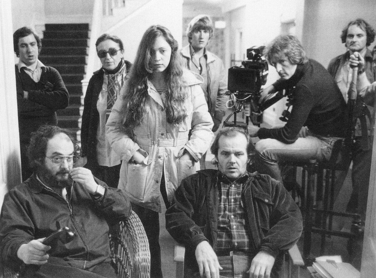 1980. На съемках «Сияния»