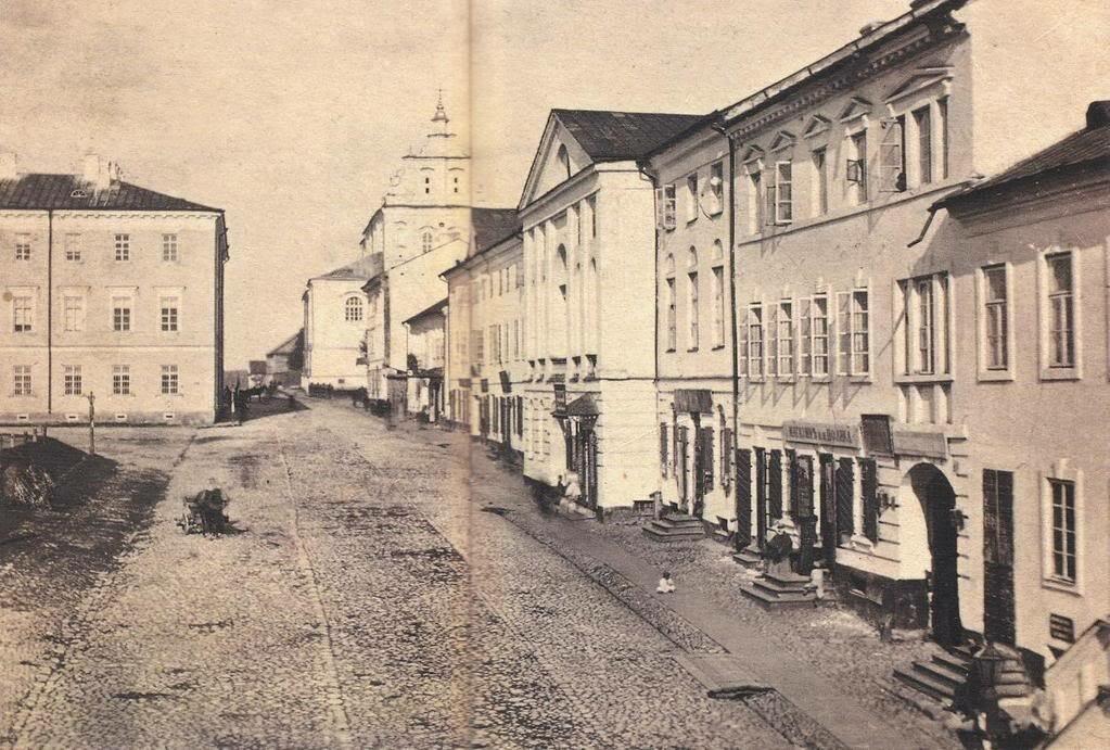 Высокий Рынок с Доминиканским костелом на заднем плане