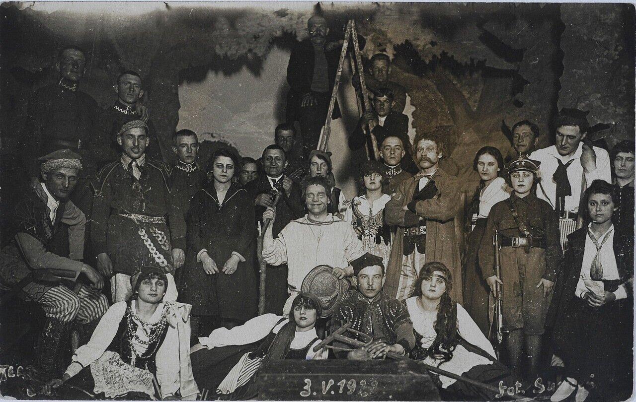 Праздник Гродненского полка 3. V. 1929