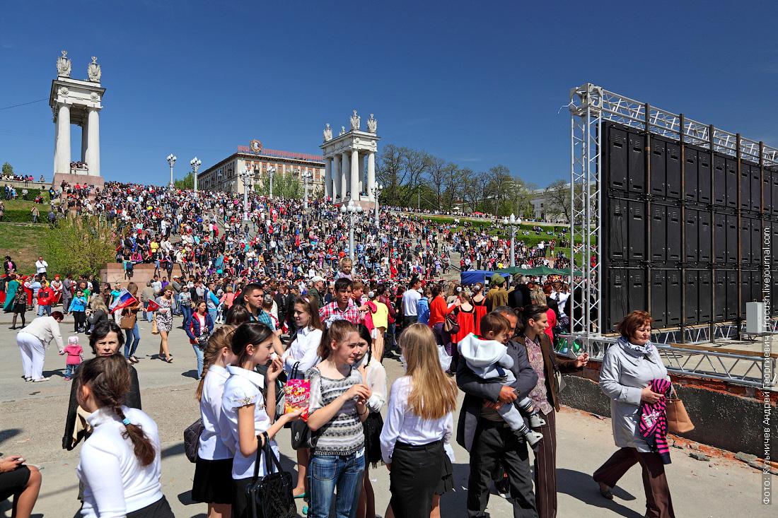 концерт на набережной Волгограда в честь Дня Победы