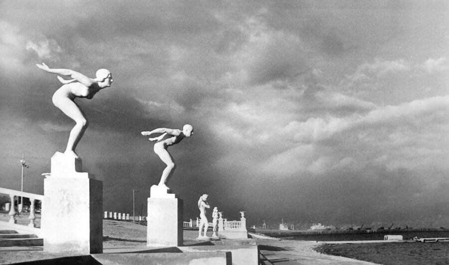 Gorplyazh, late autumn. Novorossiysk. 1960