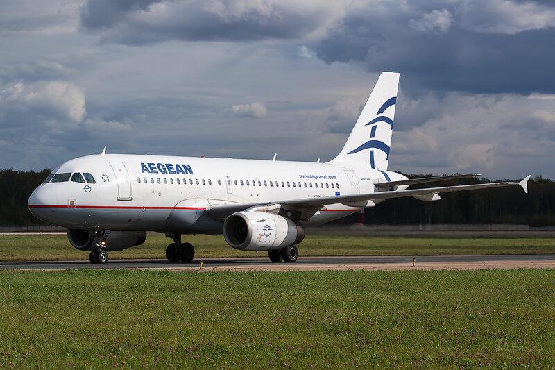 Airbus A319-132 (SX-DGF) Aegean D802790
