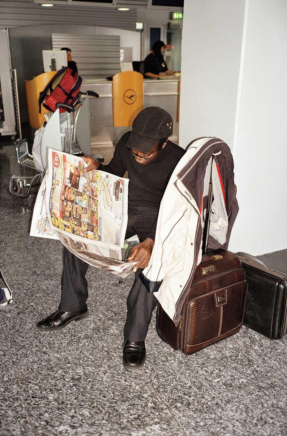 Тогбе Нгорифия Кифа Коси Банса - верховный правитель территории Хохо в Гане. 0_177612_379ff231_orig