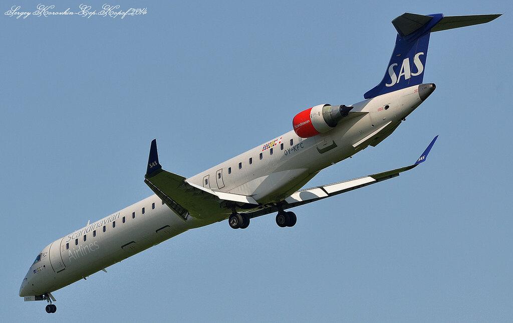 Bombardier-CRJ900 SAS Scandinavian Airlines