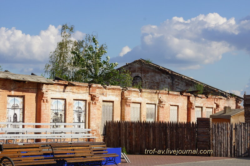 Обозный сарай резервного батальона, историко-культурный комплекс Старая крепость, Омск
