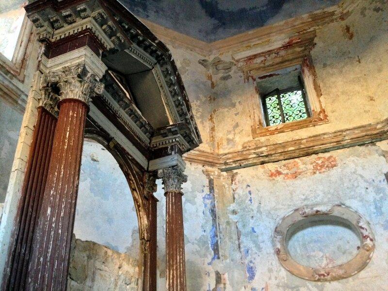 Прчань, старая жупная церковь