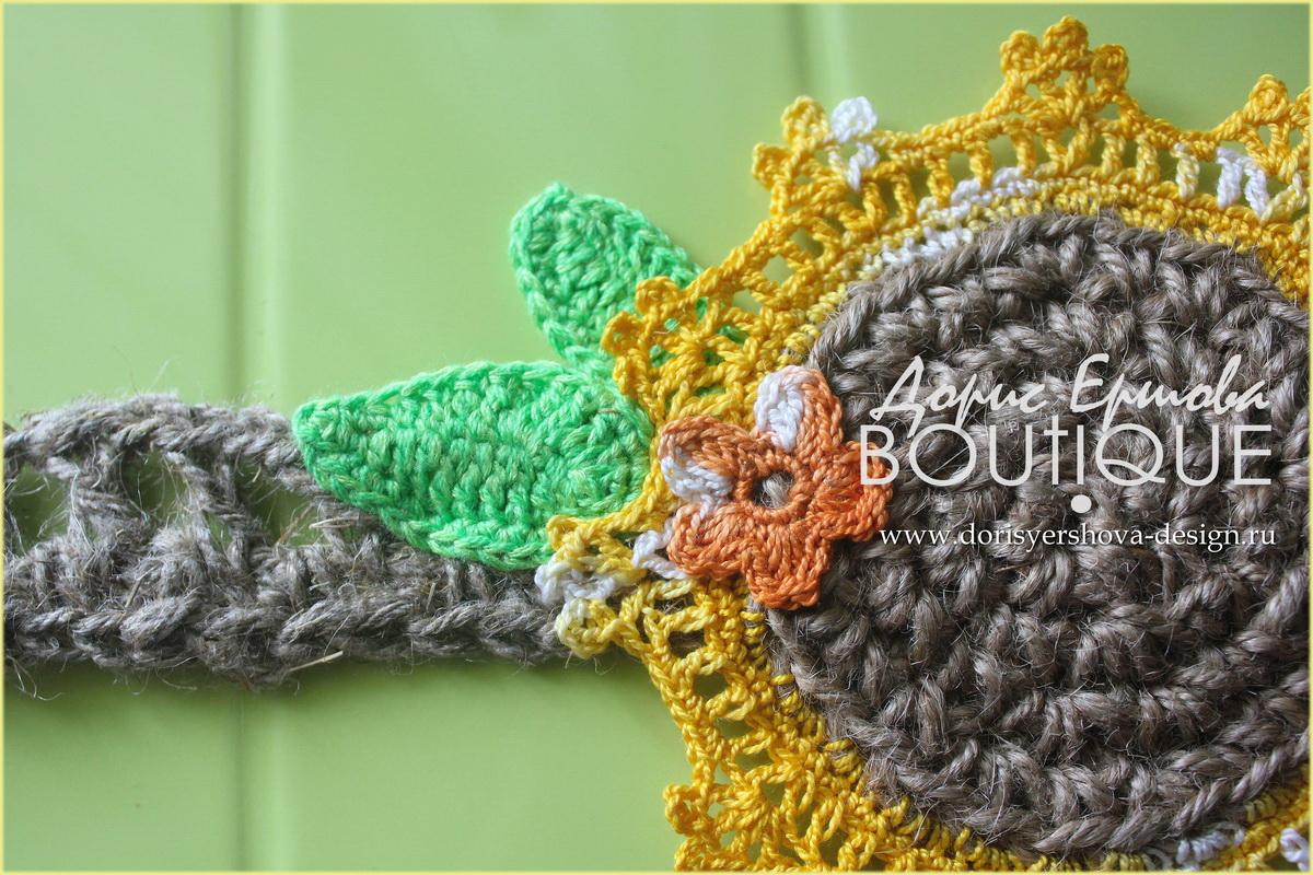 кружева, крючок, кружева крючком, кружева для штор, кружева для оформления кухни, кружева для декора кухни, кружевная сказка для декора кухни, зеленый, оранжевый, синий, салфетки, подхваты для штор, джут. ирис, хлопок, дизайн Дорис Ершовой, Дорис Ершова BOUTIQUE, подхват для штор