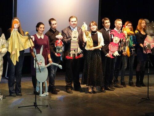 Концерт на 55-летии Театра кукол