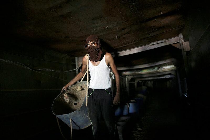 MIDEAST ISRAEL PALESTINIANS GAZA EGYPT TUNNELS