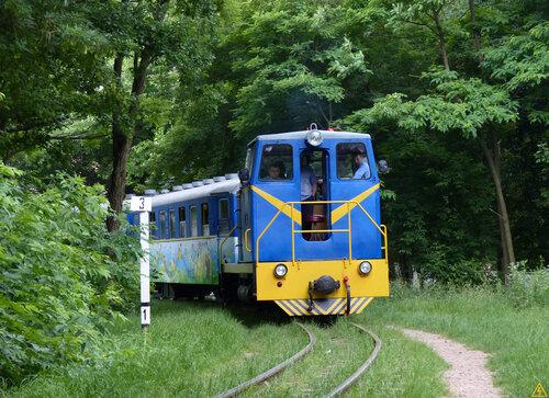 Детская железная дорога в Киеве
