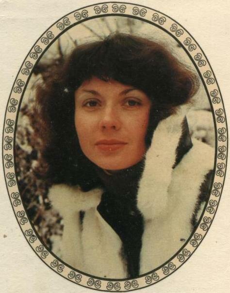 Переводная картинка из ГДР девушка 1984