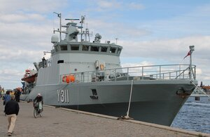 ВМФ Дании - корабли водолазаной службы