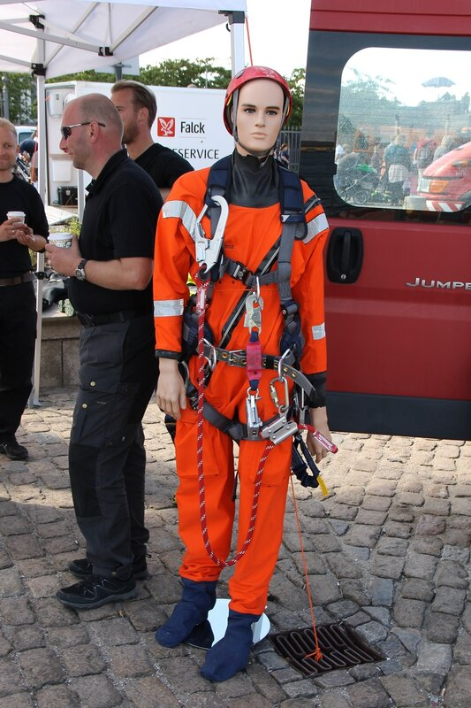 Copenhagen. Exhibition of rescue services