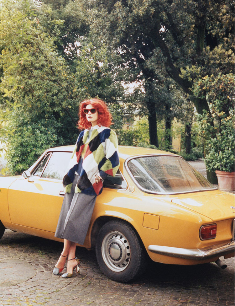 Малгосия Бела в журнале W Magazine (10 фото)