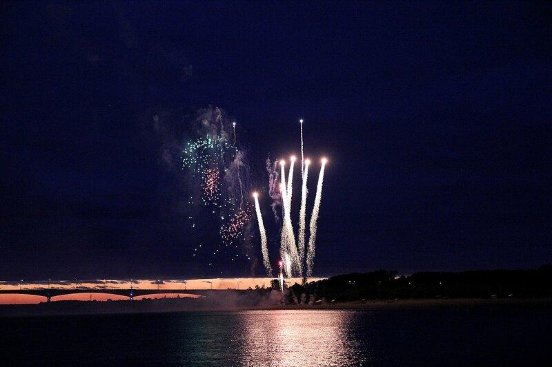 Ракеты вверх! Фестиваль фейерверков-2014 в Кирове.