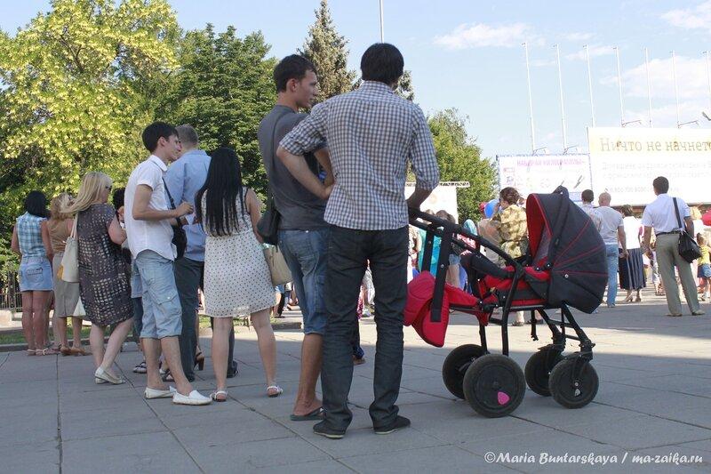 Фестиваль сладостей, Саратов, площадь Чернышевского, 05 июля 2013 года