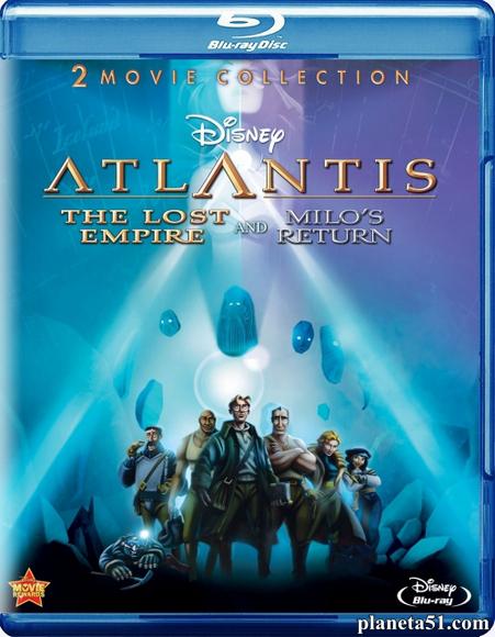 Атлантида 2: Возвращение Майло / Atlantis: Milo's Return (2003/HDRip)