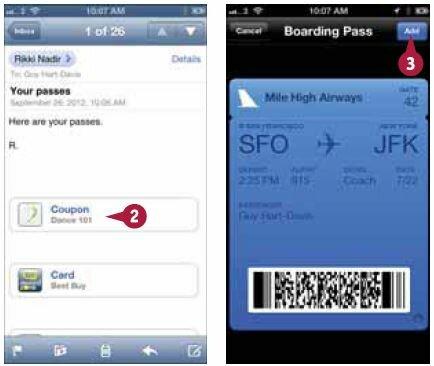 Добавление документа в Passbook