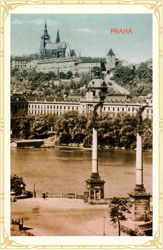 9. Градчаны и Стракова академия (ныне Дом правительства Чехии). 1928 год