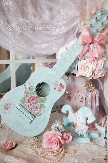 декупаж гитара