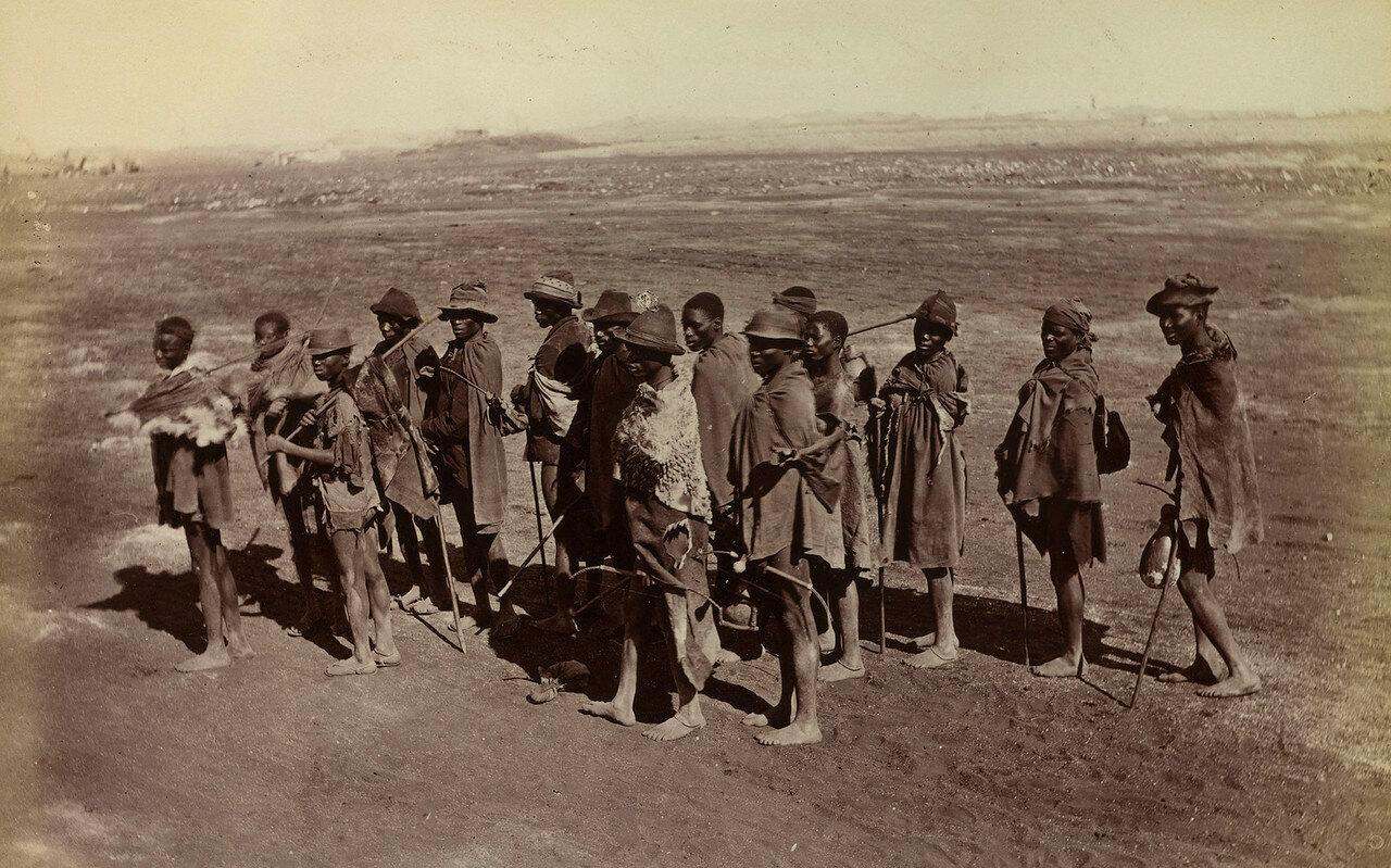 Западный Грикуаленд. Работники покидают алмазные копи