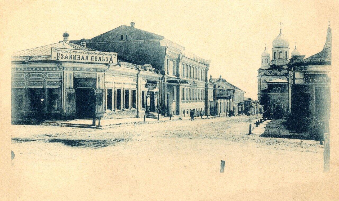 Угол улиц Торговая и Орловская