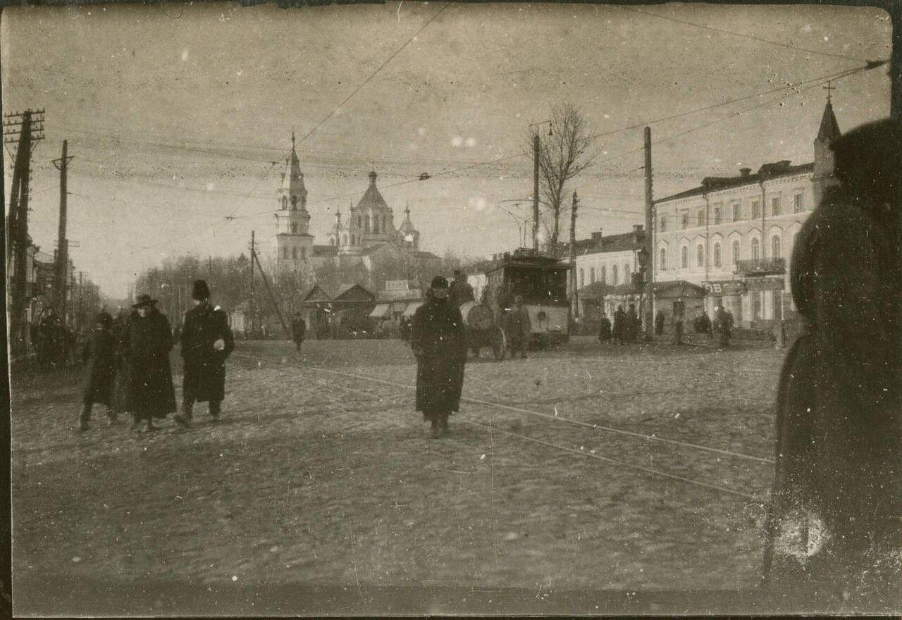 Уличная сцена в Екатеринославе.