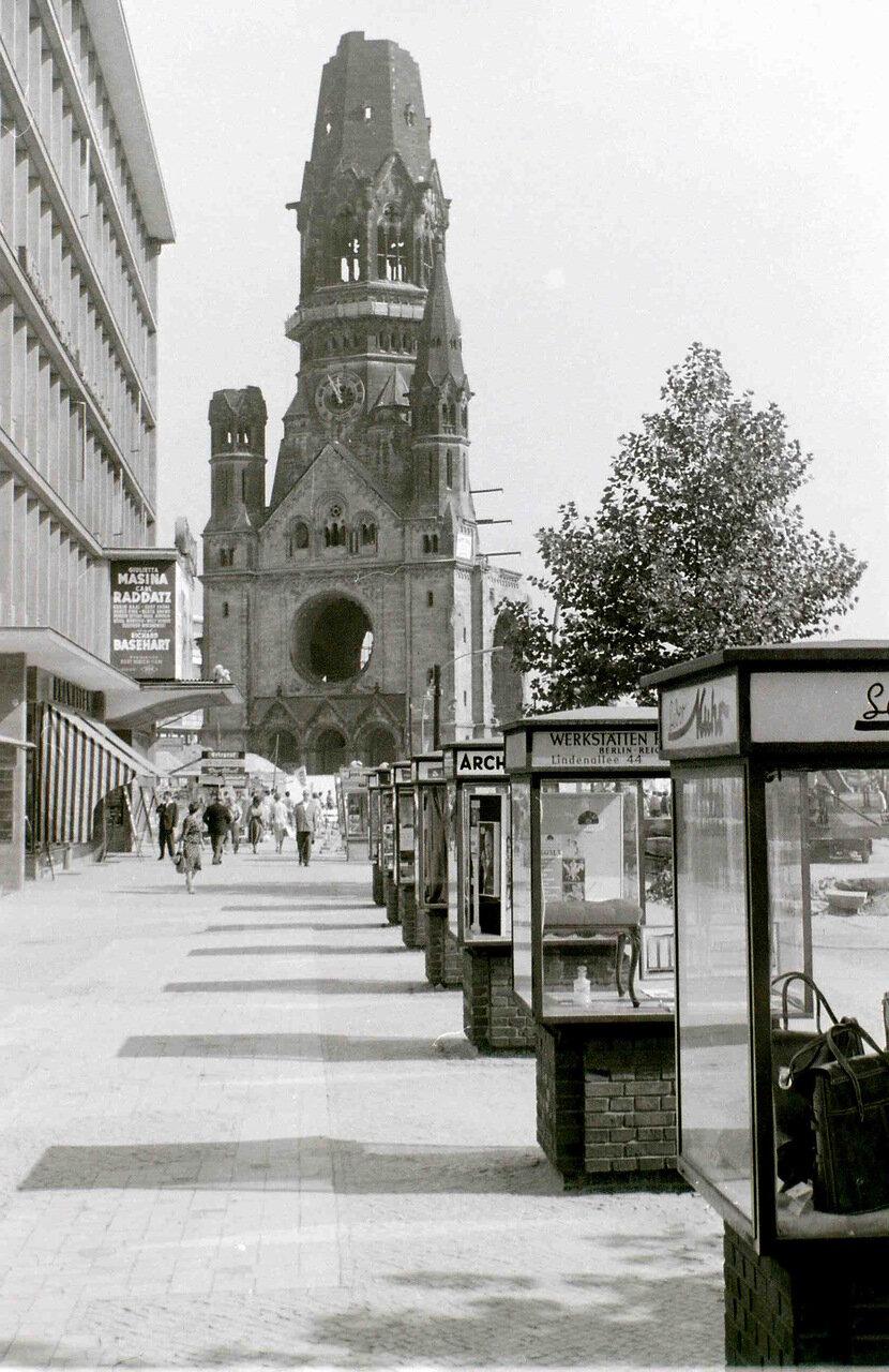 11 сентября 1959. Мемориальная церковь кайзера Вильгельма, Западный Берлин