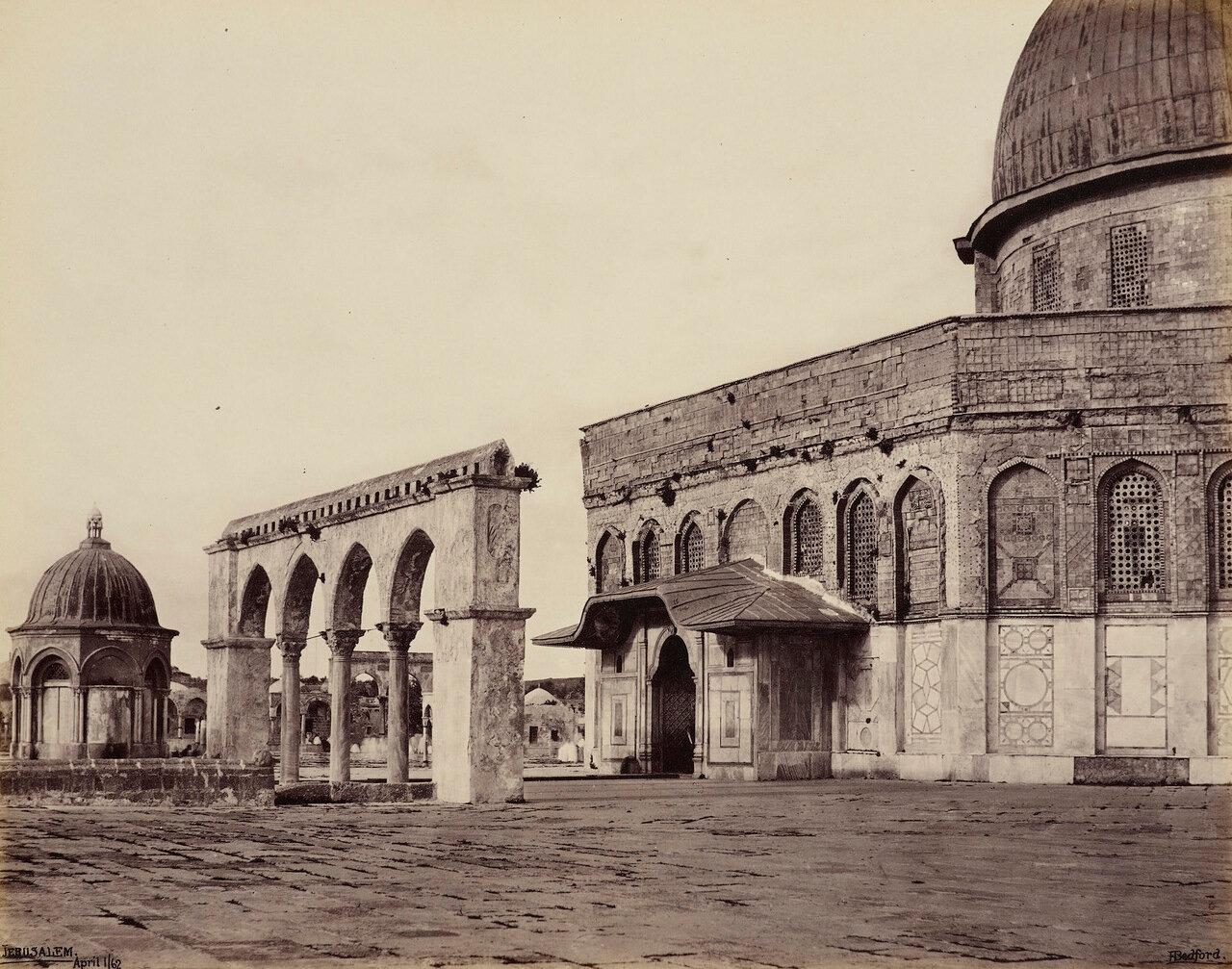 1 апреля 1862. Западная часть мечети Омара. Иерусалим