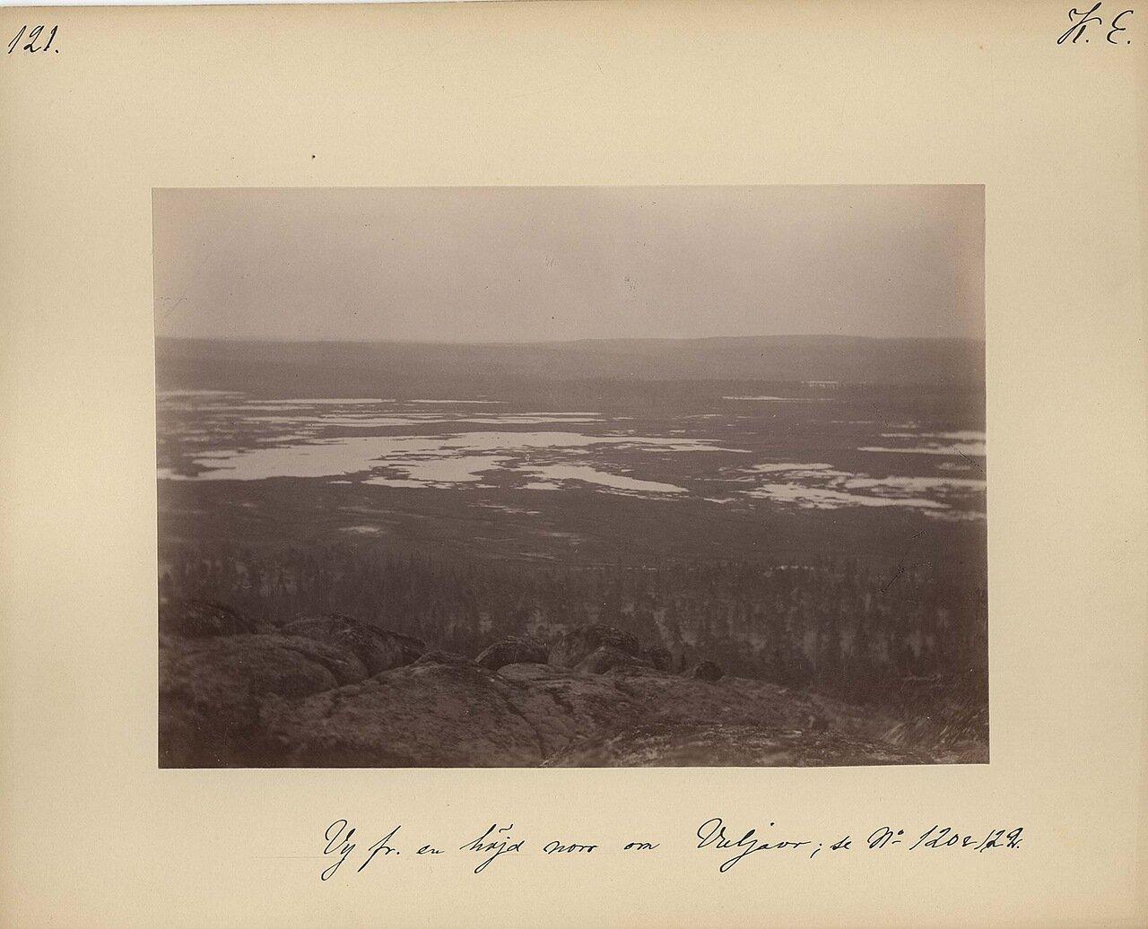 Вид северной стороны озера Вулъявр