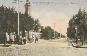 Чеховская улица и Каланча