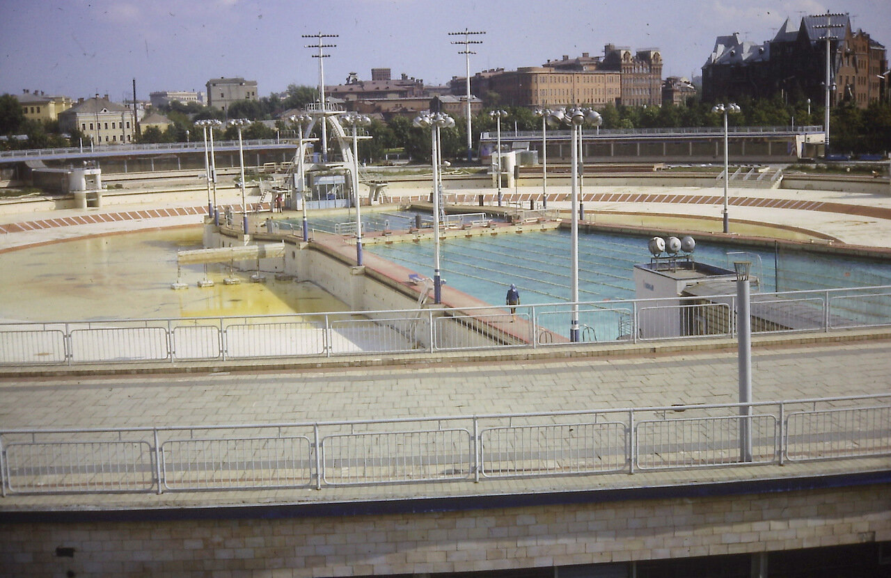 Moscow sports' complex 1966 Pool open all year.