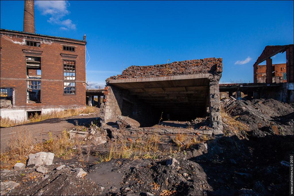 Агломерационная фабрика Гороблагодатского рудника. Кушва